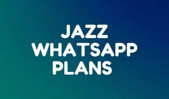 Jazz daily, weekly, and monthly whatsapp plans