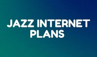 Jazz daily, weekly, and monthly internet packages